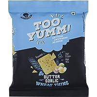 Too Yumm Wheat Thins, Butter Garlic, 32g