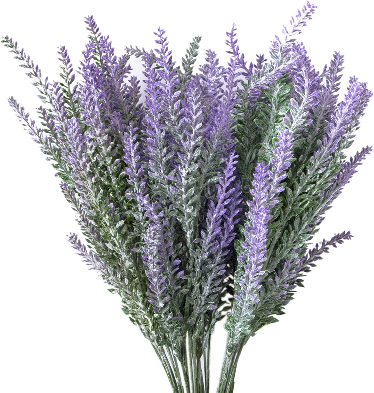 Amazon Com Hibery 6 Bundles Artificial Lavender Plant With Silk