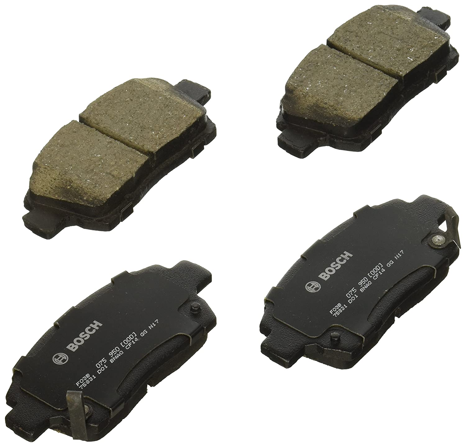 Bosch BC990 QuietCast Premium Disc Brake Pad Set