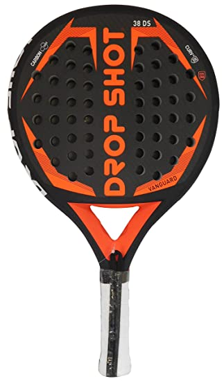 DROP SHOT Vanguard Pala de Pádel, Unisex Adulto, Negro, 360-385 gr: Amazon.es: Deportes y aire libre