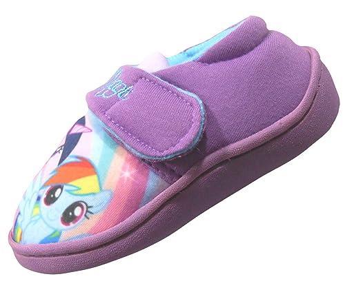 new style f8dba 142a3 W Lamb My Little Pony Rainbow Magic Ragazze Pantofole