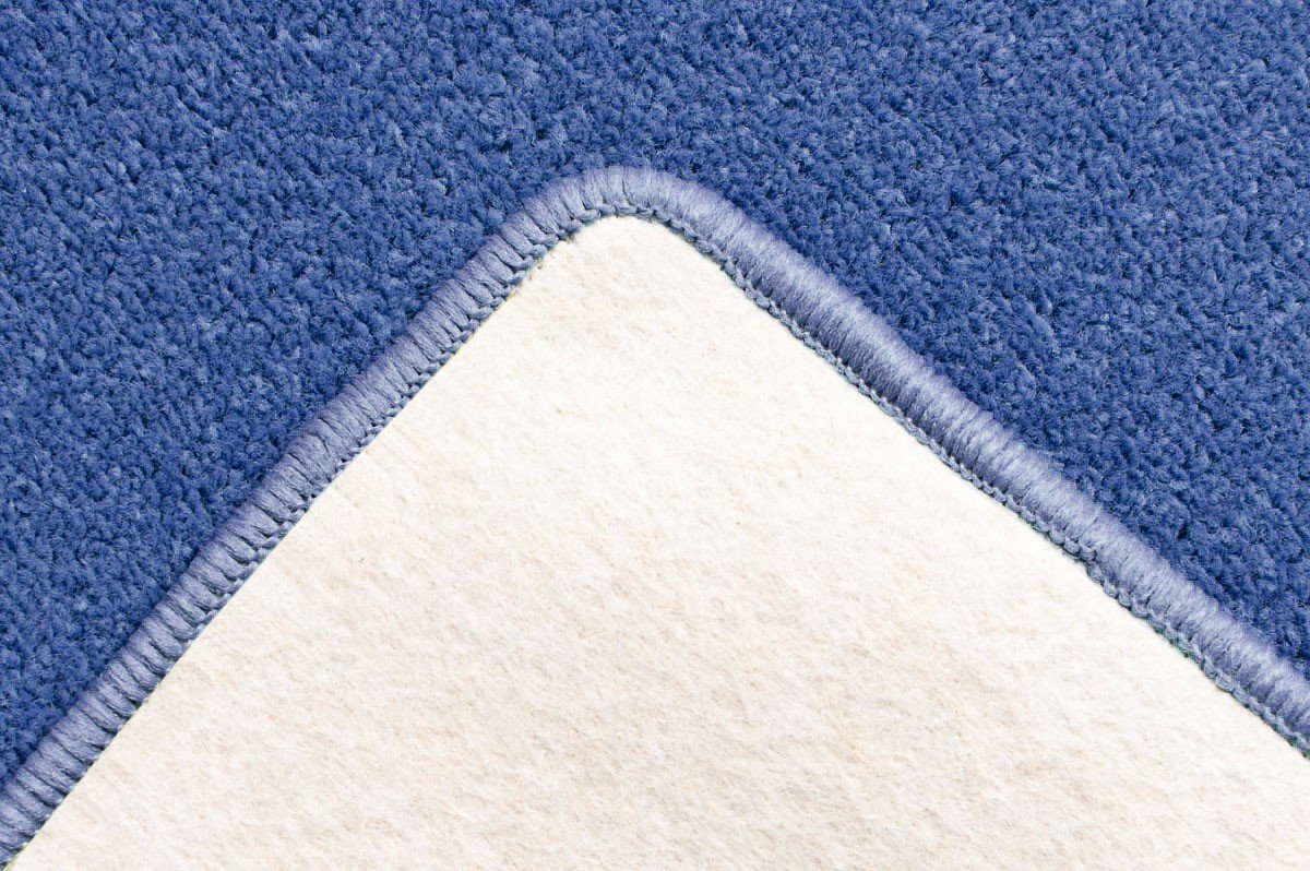 Havatex Velours Teppich Teppich Teppich Trend - schadstoffgeprüft und pflegeleicht   schmutzabweisend robust strapazierfähig   Wohnzimmer Schlafzimmer, Farbe Blau, Größe 240 x 360 cm B00EYQ5POW Teppiche d86577
