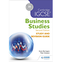 Cambridge IGCSE Business Studies Study and Revision Guide 2nd edition (English Edition)