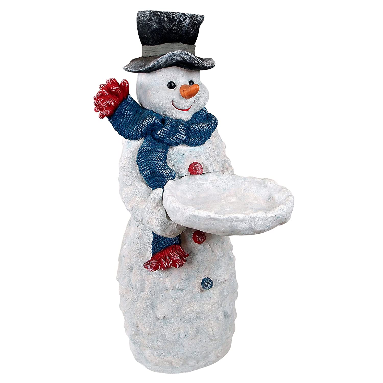 Amazon.com : Design Toscano Christmas Decorations - Flurry the ...