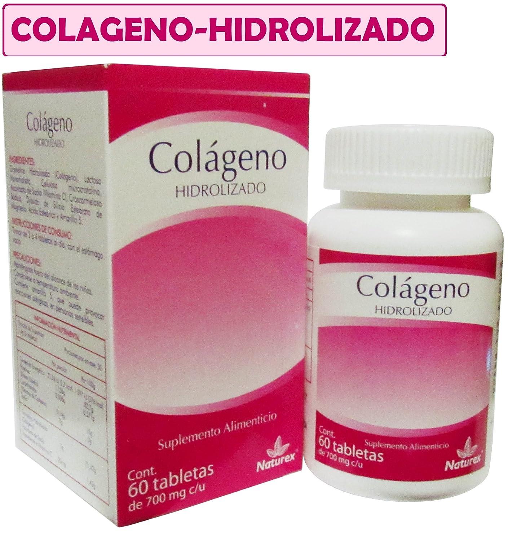 Amazon.com: Colageno HIDROLIZADO 60 CAPS similar Colageina ...