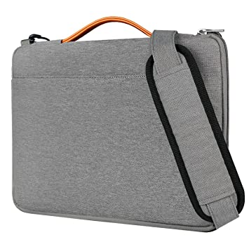 Amazon.com: Inateck 14 Inch Laptop Shoulder Bag, Spill-resistant ...