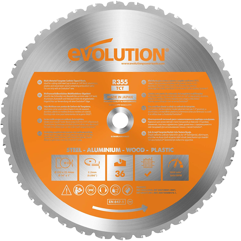 Evolution 14 Inch Multi-Material Blade