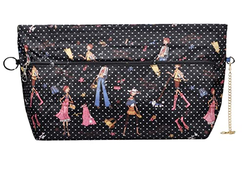 a3064795537b Vercord Tote Handbag Purse Organizer Insert Bag Pocketbook Zippered Divider  Liner for Women