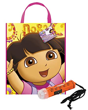 24fbff8727de  quot Dora The Explorer quot  Happy Halloween Trick or Treat Candy Loot Bag!