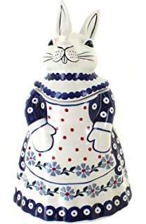 Fine Ceramic Daisy Hat Lady Wearing Hat with White Daisy Design HatDiet Cookies Cookie Jar 10-7//8 H