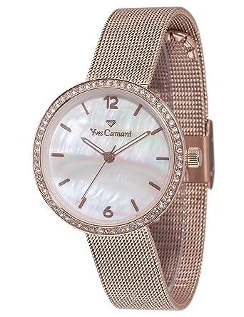 34d2f66771 Montres Bracelet - Femme - Yves Camani - G4G4YC1085-B: Amazon.fr ...