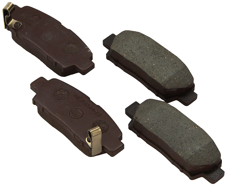 Toyota Genuine Parts 04466-07020 Rear Brake Pad Set