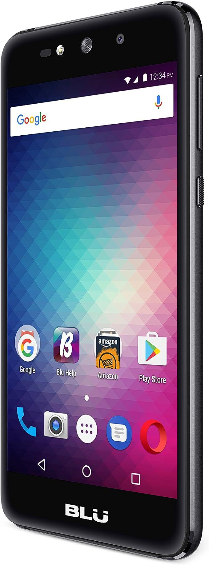 BLU Grand MAX -Smartphone Libre Doble SIM -Negro: Amazon.es ...