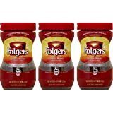 Amazon.com : Folgers Instant Coffee Crystals Classic Decaf ...