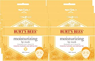 product image for Burt's Bees 100% Natural Moisturizing Lip Mask, Single Use Conditioning Lip Care , 6 Count