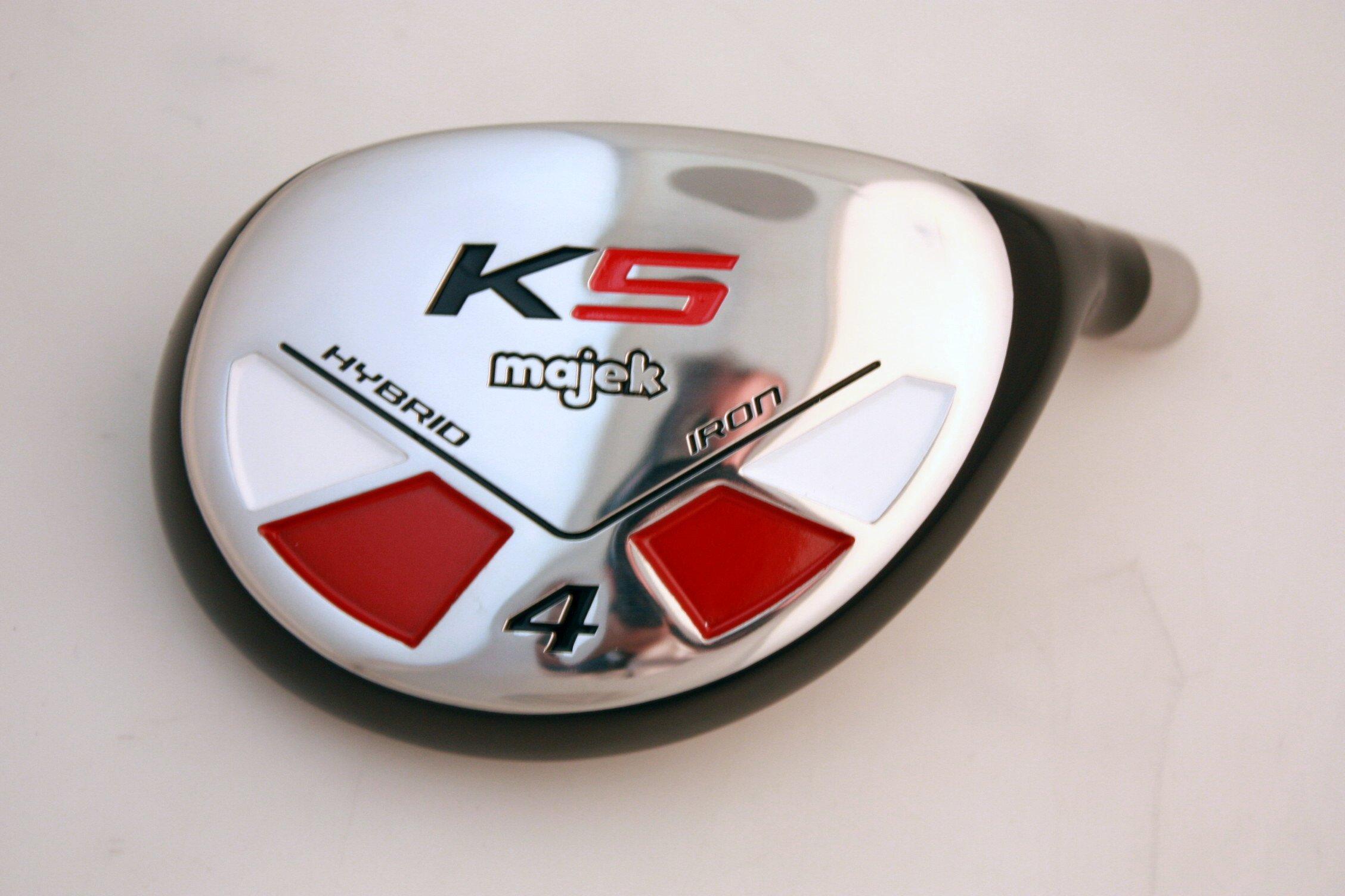 Majek Golf Big & Tall XL Extra Long All Hybrid #4 Stiff Flex Right Handed New Rescue Utility S Flex Club