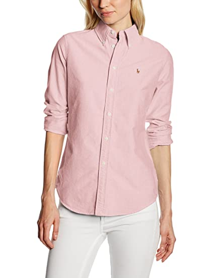 Polo Ralph Lauren V33IOHRSC9203 Blusa, Rosa (BSR Pink AA254), XS ...