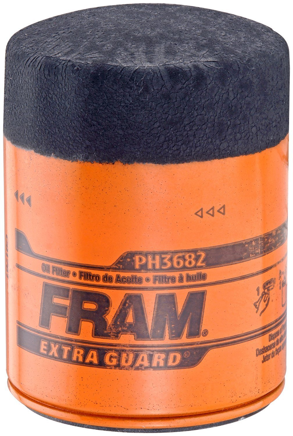 Fram PH3682 Extra Guard Passenger Car Spin-On Oil Filter Pack of 2