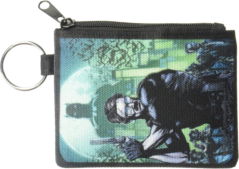 6.5 x 3.5 Buckle-Down Juniors Zip Wallet Batman Detective Gordon Small Multicolor
