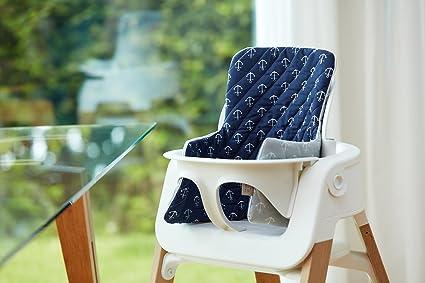 Fuerza Kids Reductor de asiento blanca ancla en azul oscuro ...