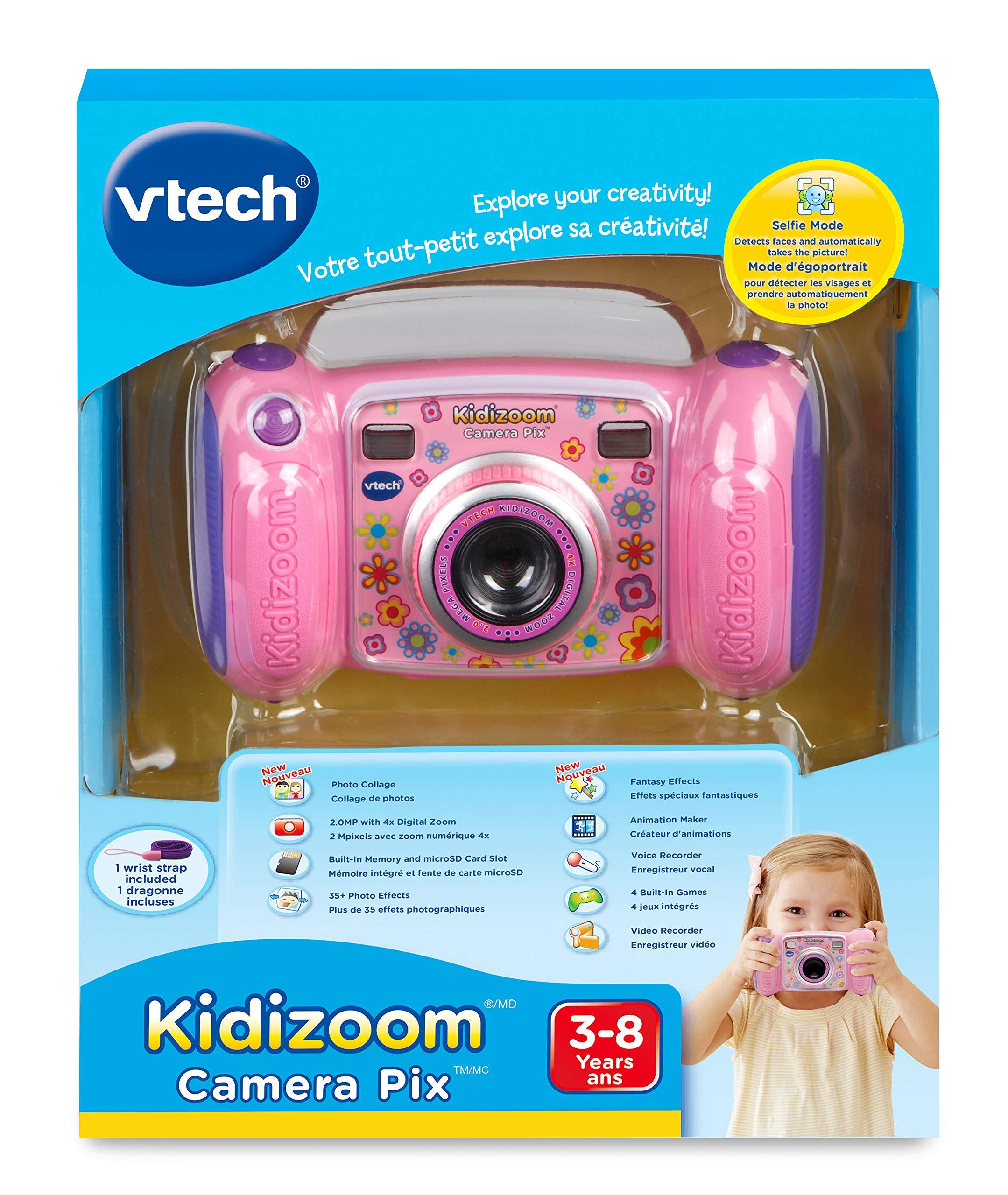 VTech Kidizoom Camera -Bilingual Pink by VTech (Image #7)
