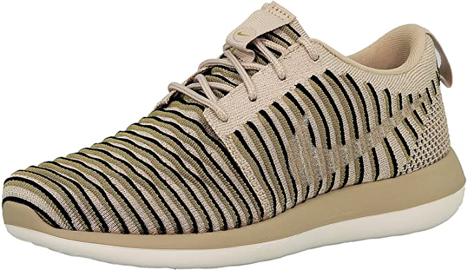 3d0907c1e0 Nike Women's Roshe Two Flyknit Casual Shoes String & Neutral Olive ...