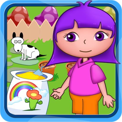 (Dora's flowers planting garden free games for kids and preschool toddler)