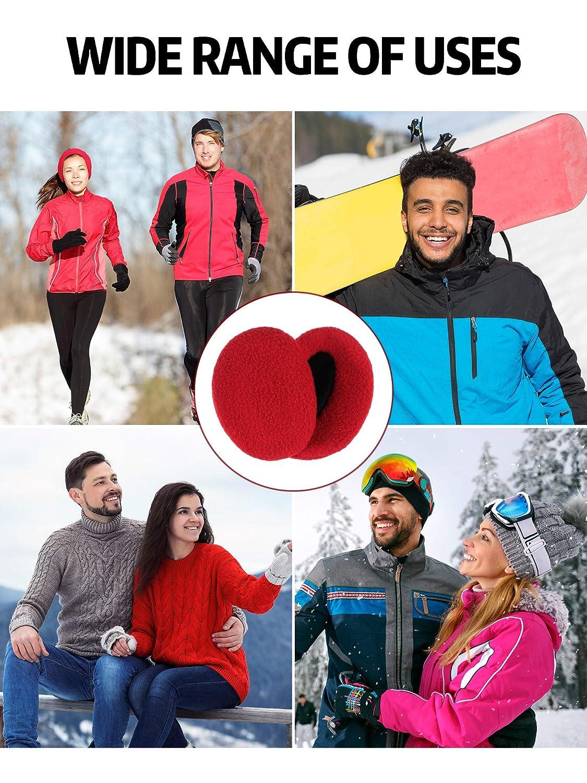 SATINIOR 6 Paar Winter Warme Ohrenw/ärmer Kapselgeh/örsch/ützer f/ür M/änner und Frauen