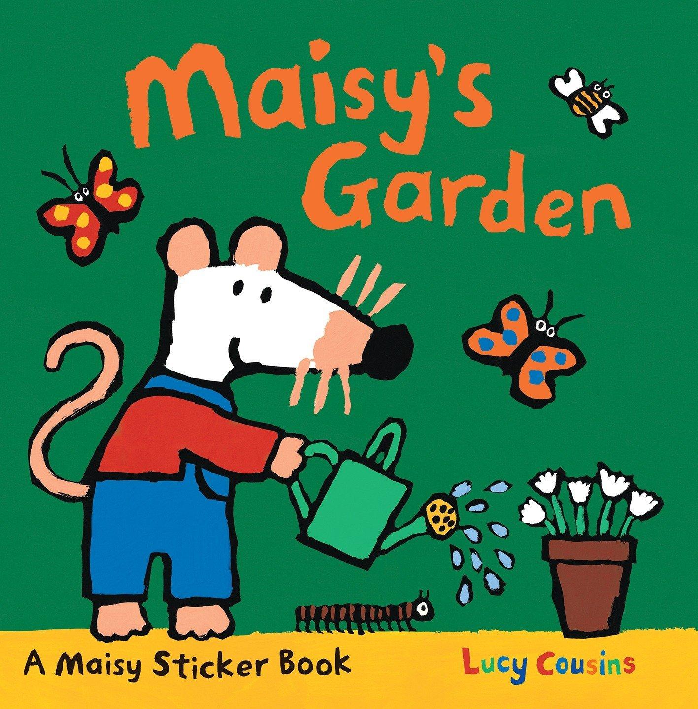 Maisy's Garden: A Sticker Book: Amazon.co.uk: Lucy Cousins: 9780763659066:  Books