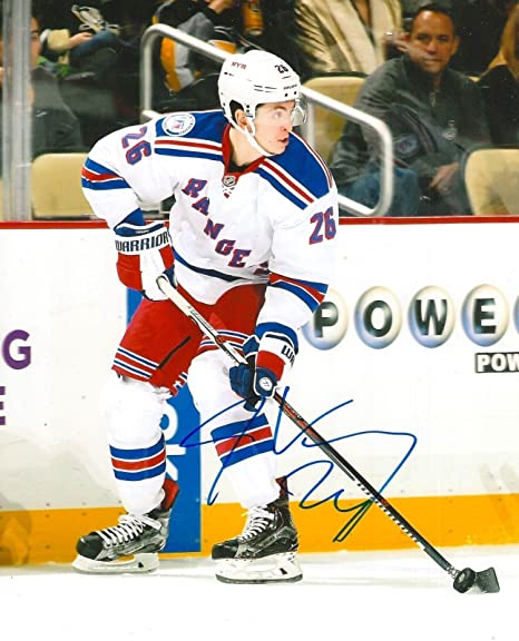 Image Unavailable. Image not available for. Color  Signed Jimmy Vesey (New  York Rangers) Photo - 8X10 COA - Autographed NHL Photos 023db124b