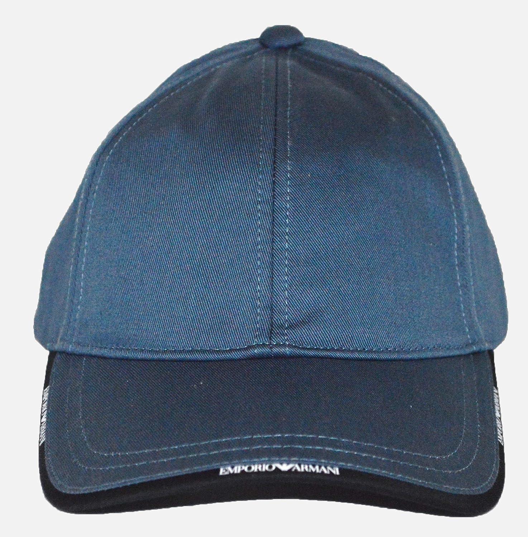 Emporio Armani - Gorra de béisbol - para Hombre Azul Azul Taille ...