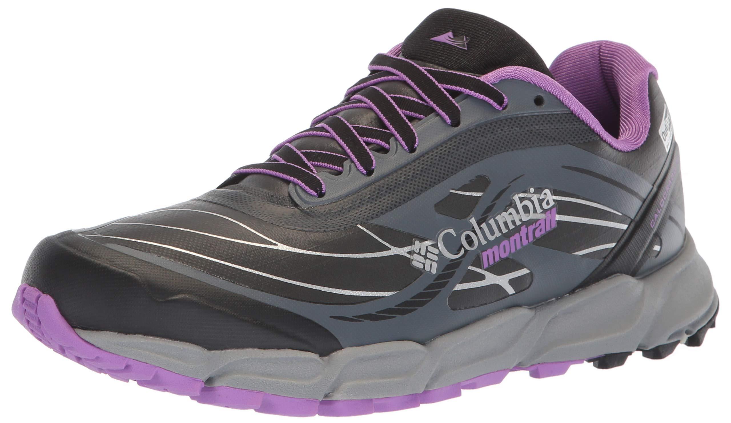 Columbia Women's CALDORADO III Outdry Extreme Hiking Shoe, Black, Crown Jewel, 10.5 Regular US by Columbia