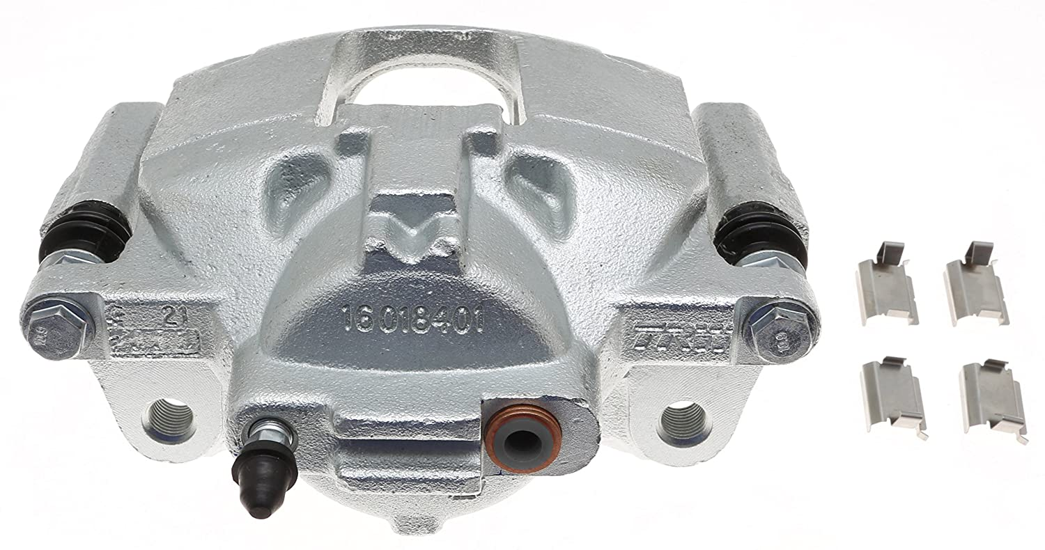 ACDelco 18FR2508C Professional Front Disc Brake Caliper Assembly without Pads Friction Ready Coated Remanufactured