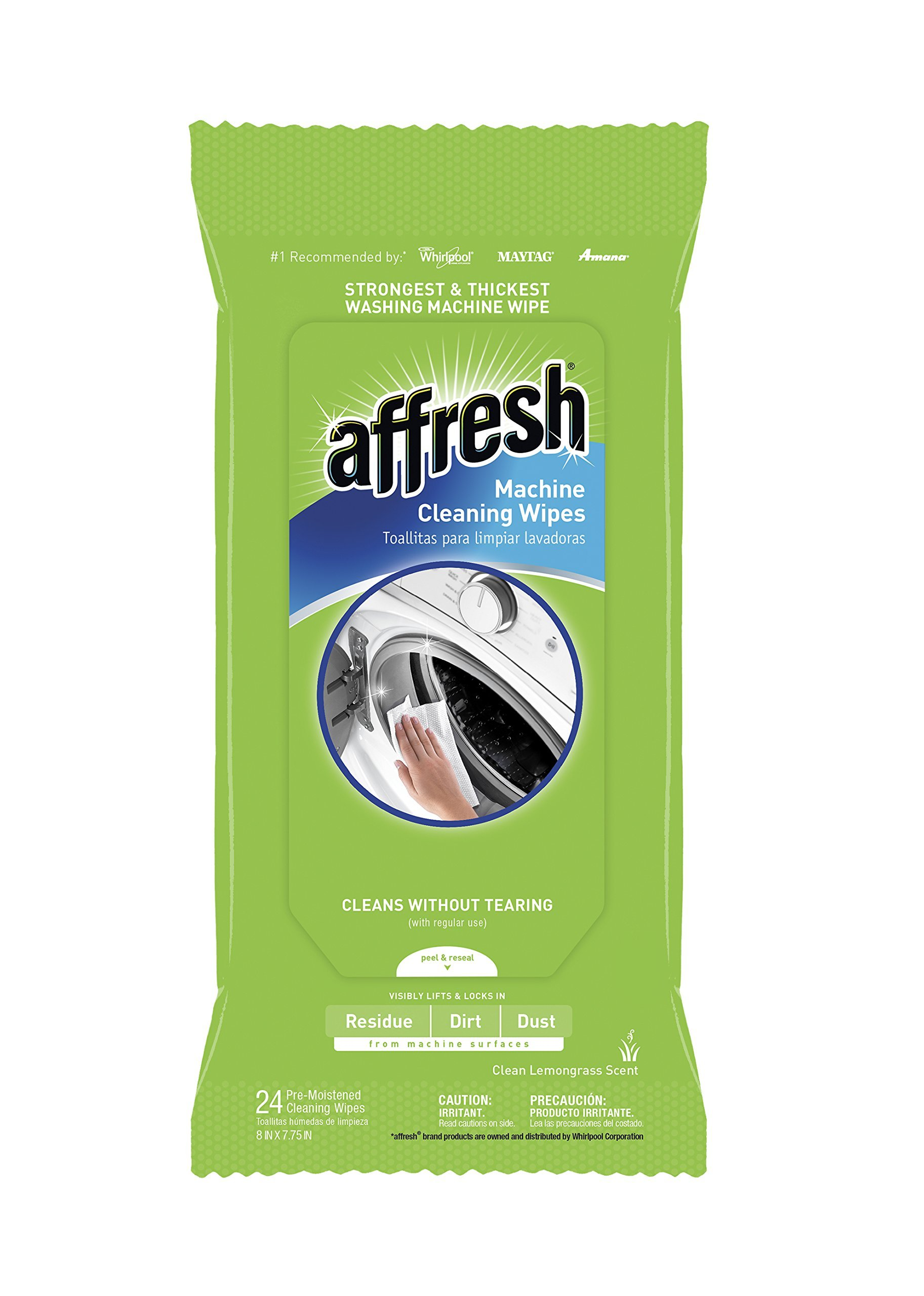 Affresh W10355053 Machine Cleaning Wipes - 24 Wipes