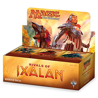 Magic The Gathering Rivals of Ixalan Booster Box | 36 Booster Packs (540 Cards): Toys & Games