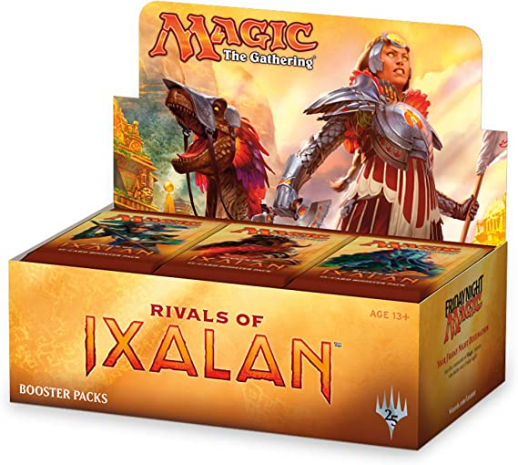 Magic The Gathering MTG-Rix-BD-EN Rivals of Ixalan Booster - Caja ...