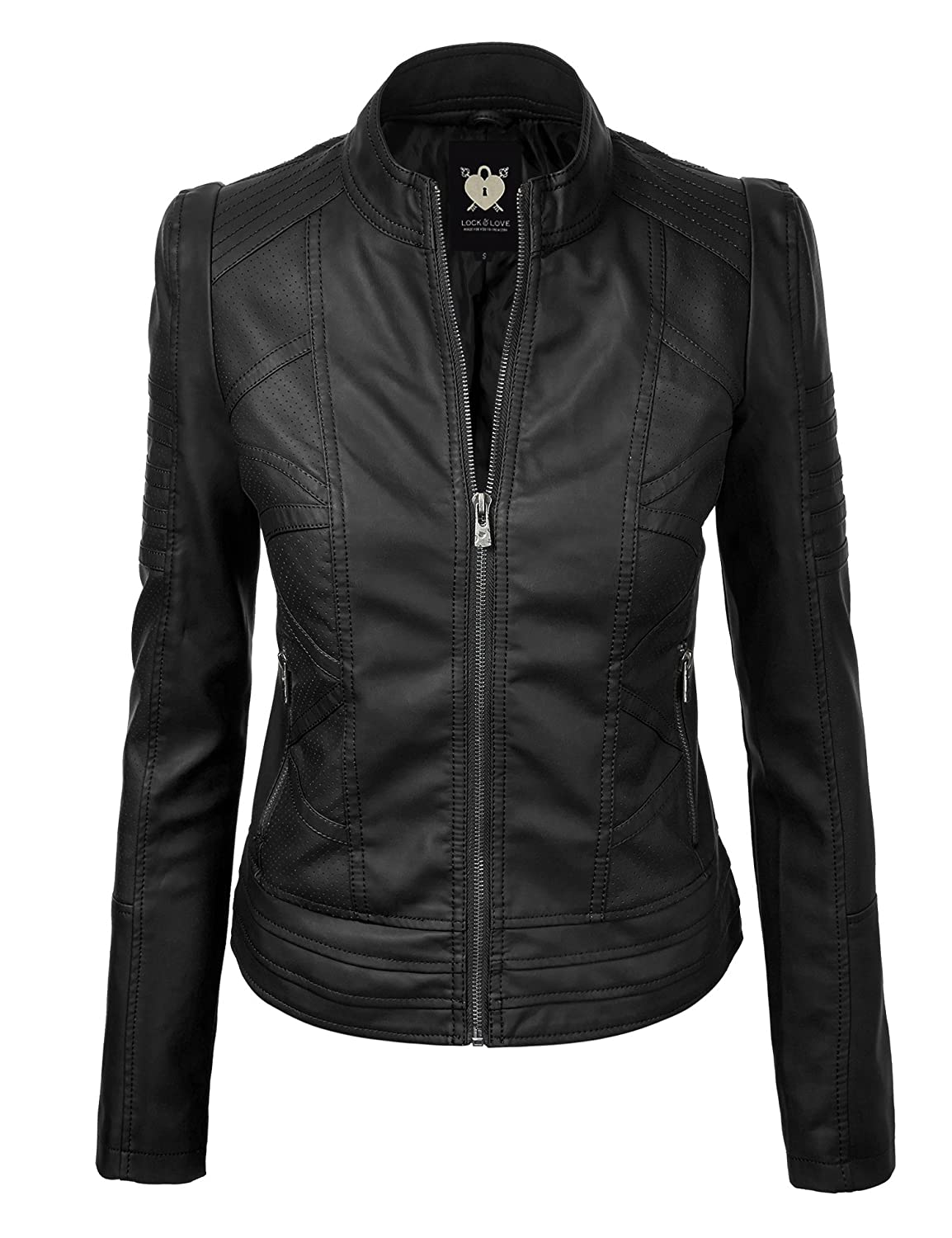 Fashion week Wear you Trendswould a quilted biker jacket for woman