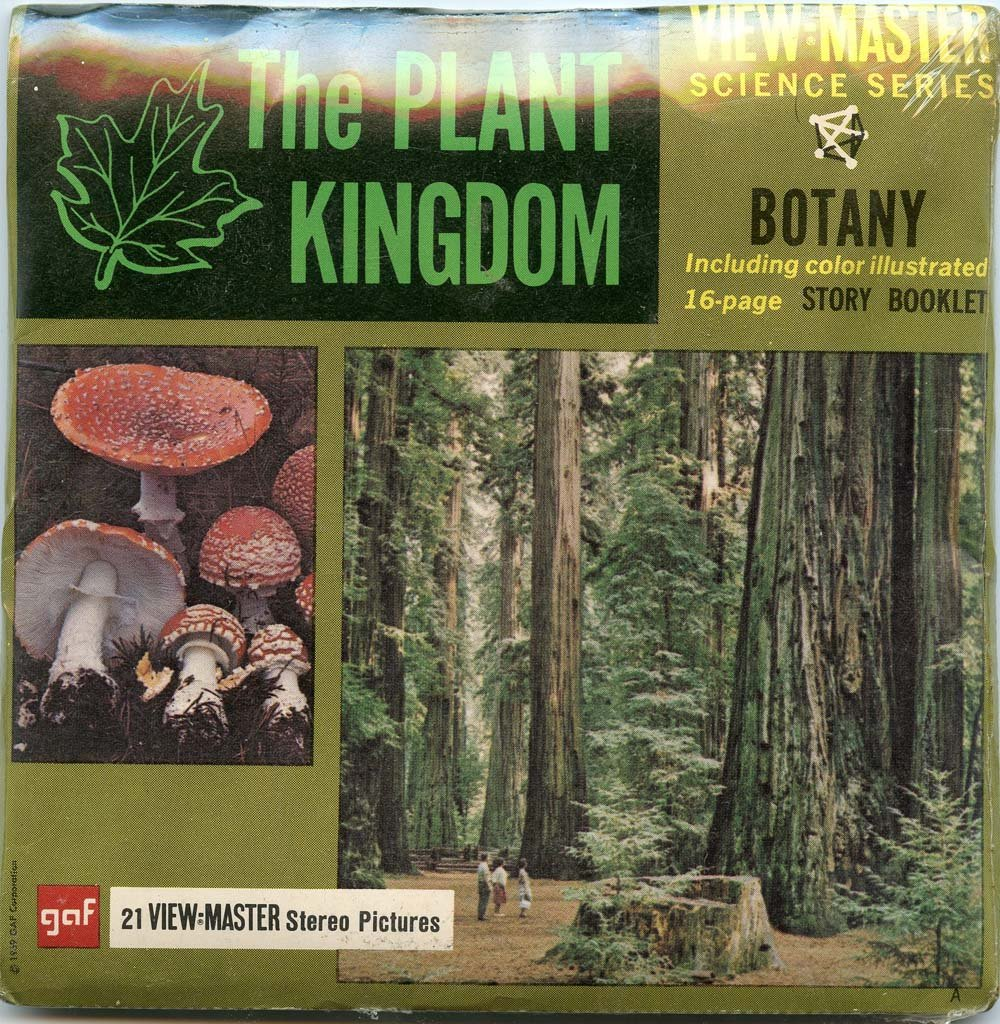 Classic ViewMaster - Plant Kingdom - Botany - Science - ViewMaster Reels 3D - Unsold store stock - never opened