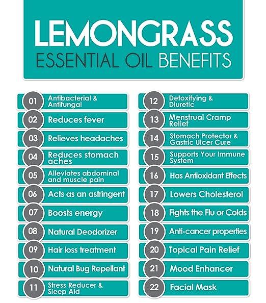 Amazon.com : UpNature - The Best Lemongrass Essential Oil 4 OZ ...