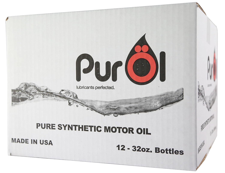 PurOl Elite合成モーターオイル10 W40 12 x 1リットルボトル B00T52MUB6