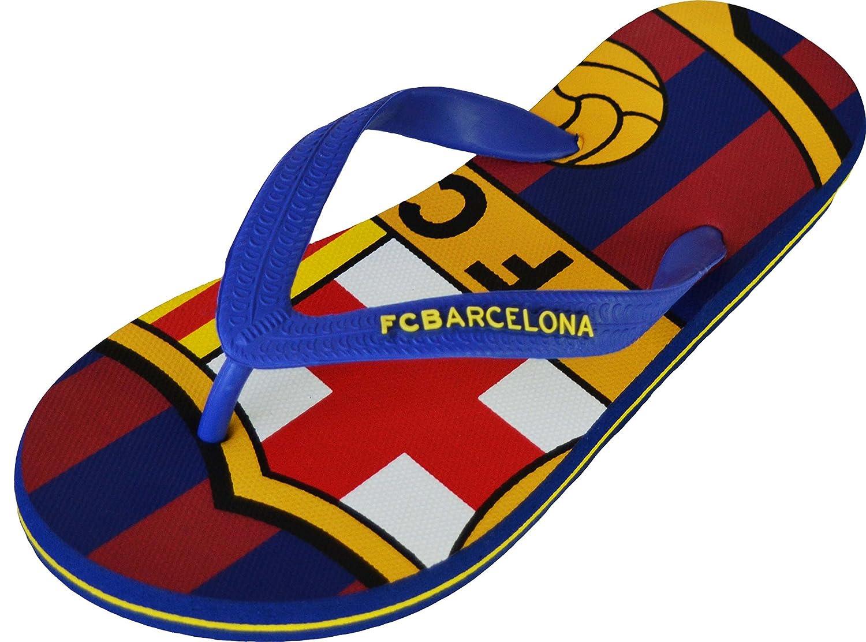 """Flip-Flops im """"Barça""""-Design, offizielles Produkt von FC Barcelona, Erwachsenengröße, für Herren für Herren FC BARCELONE"""