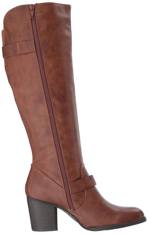 NATURAL SOUL Women's Trish Knee High Boot B076DP514M 8.5 W US|Brown