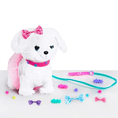 Barbie Walk & Wag Puppy: Toys & Games