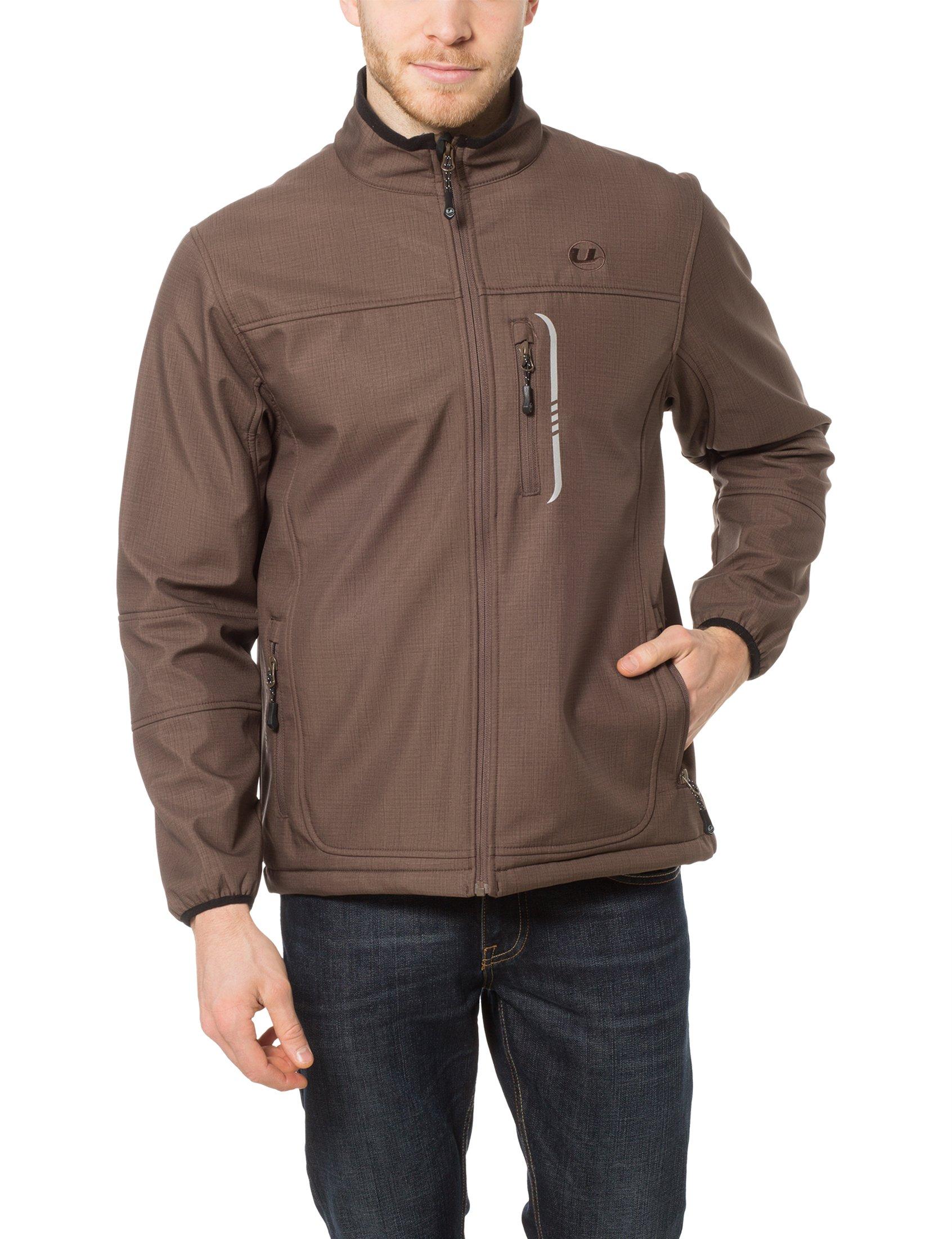 Ultrasport Stan - Chaqueta para hombre,, color marrón, talla L product image