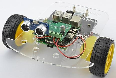 Monk makes raspirobot rover for raspberry pi amazon gewerbe