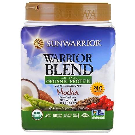 Sunwarrior Warrior Blend Mokka, 375 g: Amazon.de: Drogerie ...