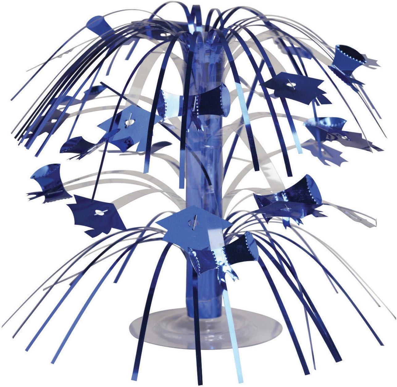 Creative Converting Cascade Graduation Centerpiece, Mini, Blue -