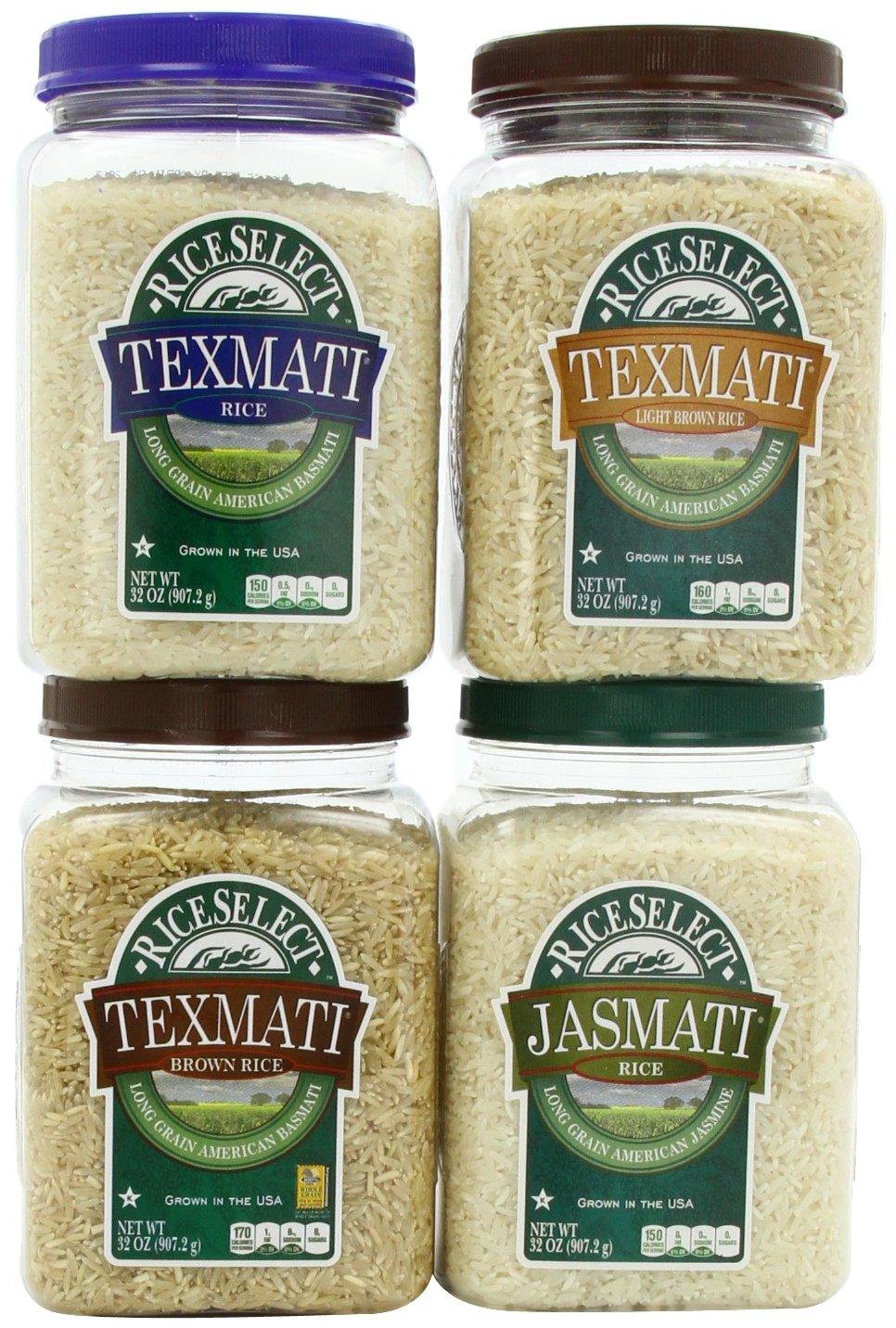 RiceSelect Basic Trial Pack, 32 oz., 4-Jar Set