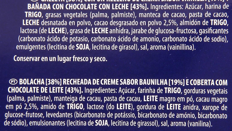 Oreo Bañadas - Galletas Cubierto de Chocolate con Leche - 6 bolsas de 2 galletas: Amazon.es: Alimentación y bebidas