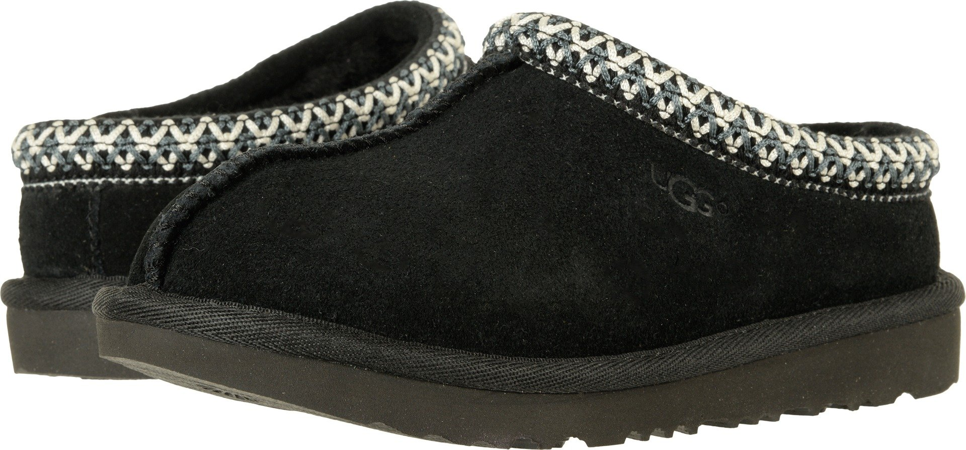 UGG Kids K Tasman II Moccasin,Black,6 M US Big Kid